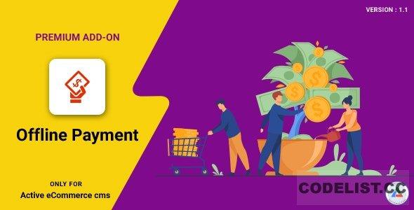 Active eCommerce Offline Payment Add-on v1.1
