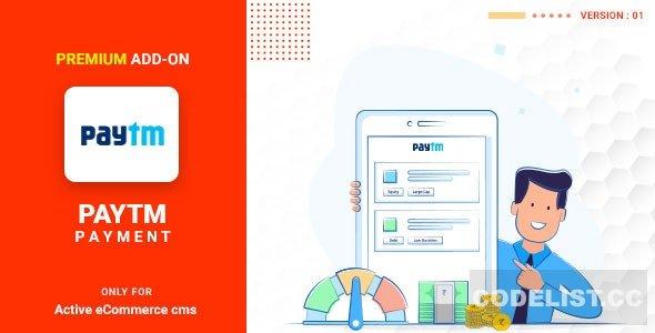Active eCommerce Paytm add-on v1.0
