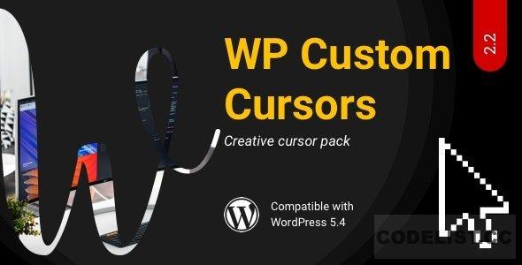 WP Custom Cursors v2.2 - WordPress Cursor Plugin