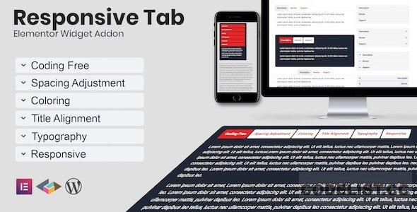 Responsive Tab Elementor Addon Plugin v1.0.0