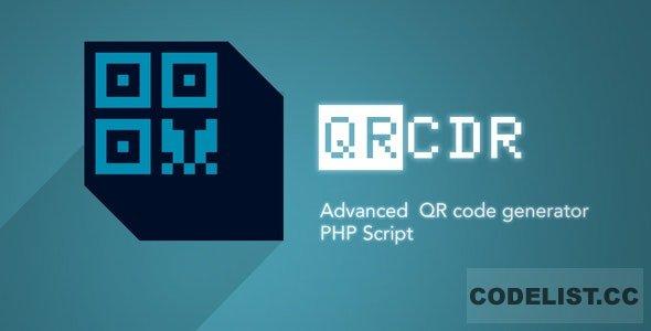 QRcdr v3.3 - responsive QR Code generator