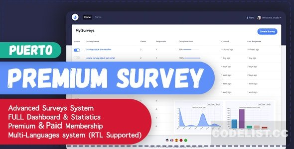 Puerto Premium Survey Builder v1.1
