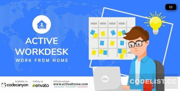 Active Workdesk CMS v1.1 - nulled