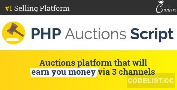 PHP Auctions Script v1.3