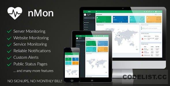 nMon v1.9 - Website, Service & Server Monitoring