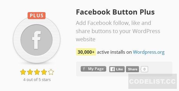 Facebook Button Plus v2.68