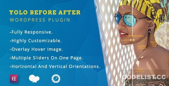 Yolo Before After v1.0.3 - Multipurpose Before After Image Slider for WordPress