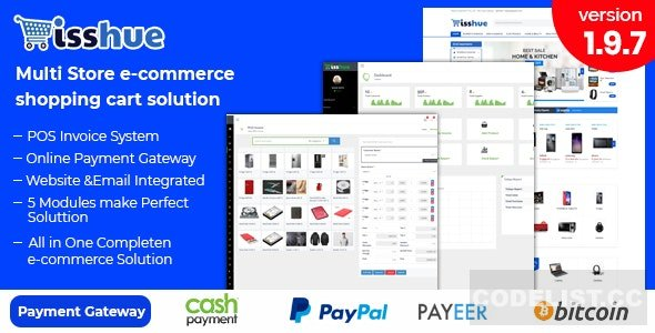 Isshue v2.0 - Multi Store eCommerce Shopping Cart Solution - nulled