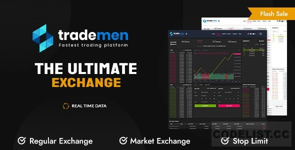 Trademen v1.0.8 - Ultimate Exchange, Live Trading, Tradingview, banking, kyc, market exchange