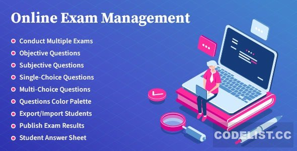 Online Exam Management v2.5 - Education & Results Management