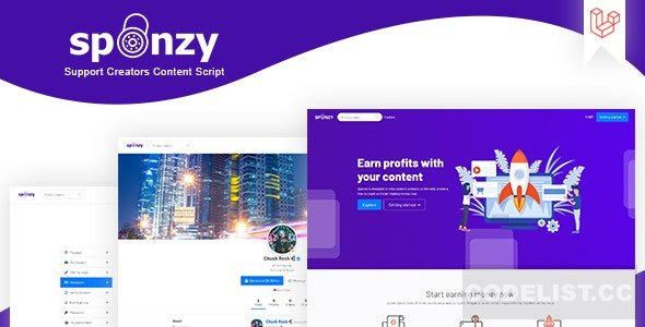 Sponzy v1.1 - Support Creators Content Script