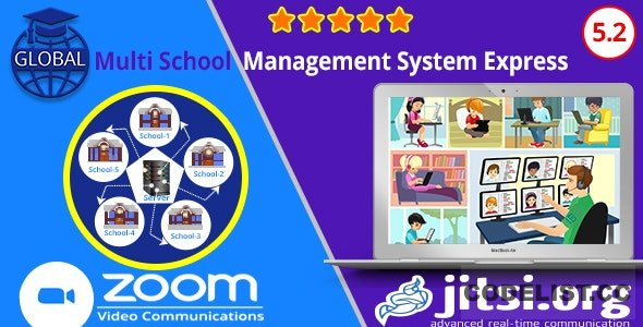 Global v5.2 - Multi School Management System Express