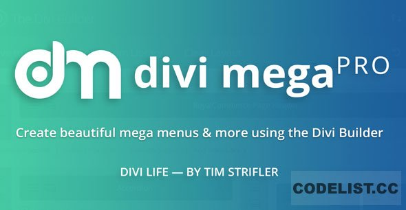 Divi Mega Pro v1.8.0