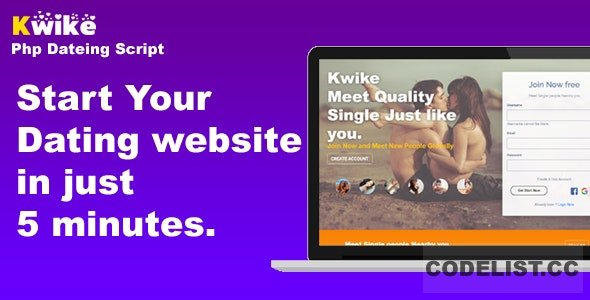 Kwike v1.4 - Dating Website Php Script