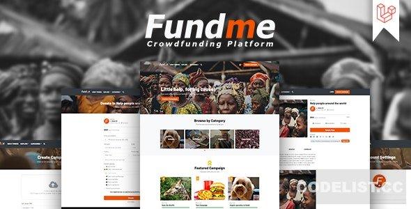 Fundme v4.0 - Crowdfunding Platform