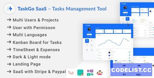 TaskGo SaaS v2.6.0 – Tasks Management Tool - nulled