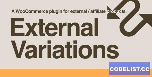 External Variations v1.0.2 - WooCommerce Plugin