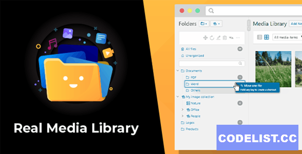 WordPress Real Media Library v4.12.0 - Folder & File Manager for WordPress Media Management