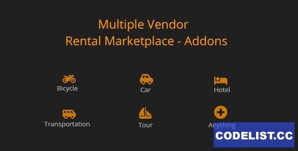 Multiple Vendor for Rental Marketplace in WooCommerce (add-ons) v1.0.0