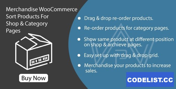 Merchandise WooCommerce v1.0 - Sort Products For Shop & Category Pages