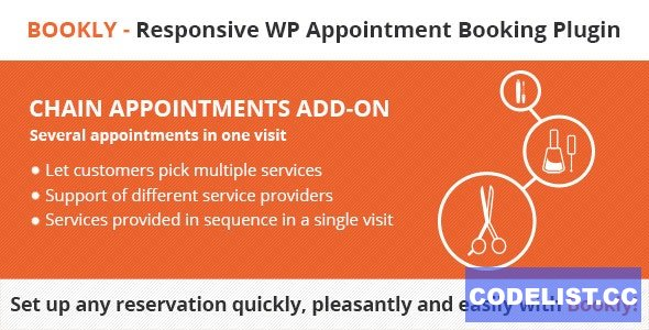 Bookly Chain Appointments (Add-on) v2.1