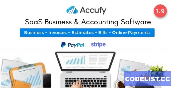 Accufy v1.9 - SaaS Business & Accounting Software - nulled