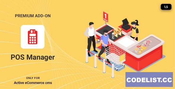 Active eCommerce POS Manager Add-on v1.5