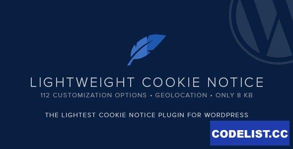 Lightweight Cookie Notice v1.17