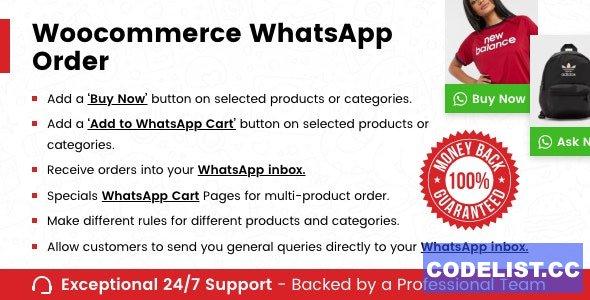 WooCommerce Whatsapp Order v1.0.4