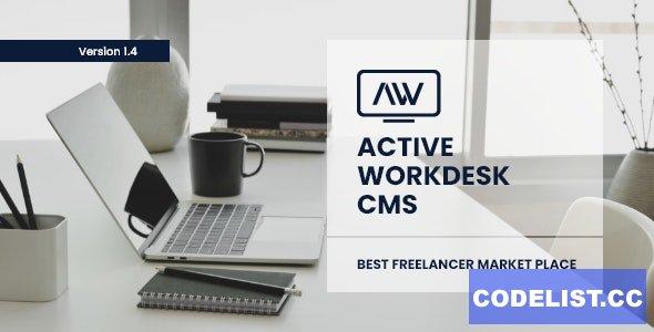 Active Workdesk CMS v1.4 - nulled