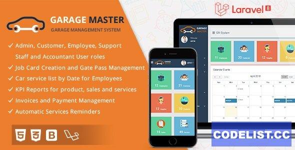 Garage Master v1.2.1 - Garage Management System - nulled