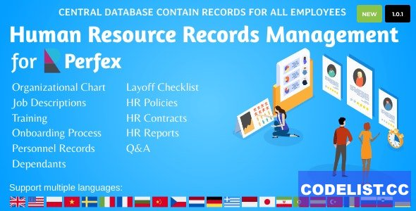 HR Records for Perfex CRM v1.0.1
