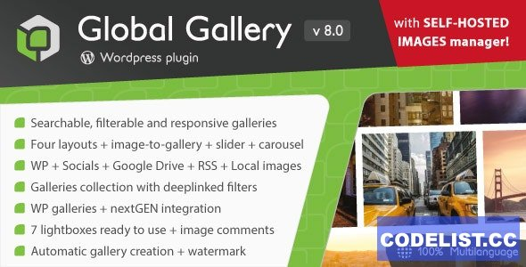 Global Gallery v8.0 - WordPress Responsive Gallery