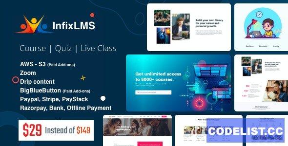 Infix LMS v2.2.3 - Learning Management System - nulled