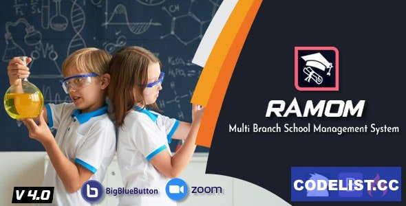 Ramom School v4.0 - Multi Branch School Management System