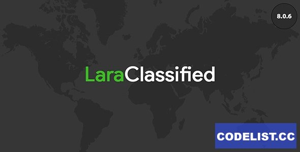 LaraClassified v8.0.6 - Classified Ads Web Application