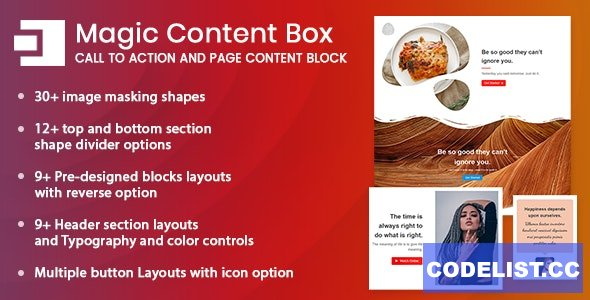 Magic Content Box v1.0.0 - Page Content Builder Gutenberg Block for WordPress