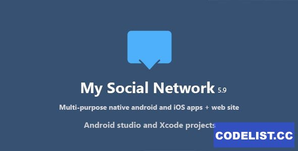 My Social Network (App and Website) v6.9 - nulled