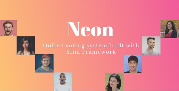 Neon - Online Voting System built with Slim Framework (08 May 2021)