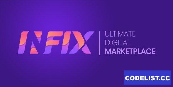 InfixHub v2.3 - Ultimate Digital Marketplace - nulled