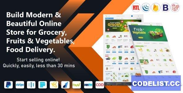 eCart Web v2.1.0 - Ecommerce / Store Full Website