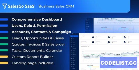 SalesGo SaaS v2.4.0 - Business Sales CRM