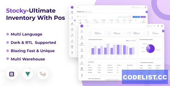 Stocky v2.5.0 - Ultimate Inventory Management System with Pos