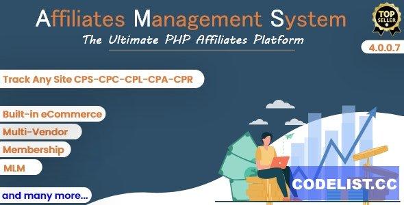 Ultimate Affiliates Management System v4.0.0.7 - PHP Software