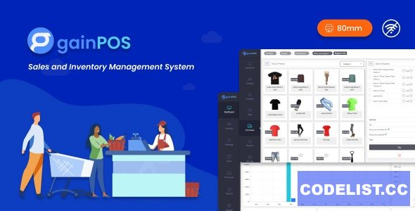 Gain POS v1.6 - Inventory and Sales Management System