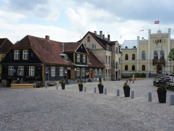 Kuldiga in Latvia - History and Movies