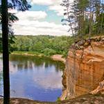 Ligatne Park Latvia