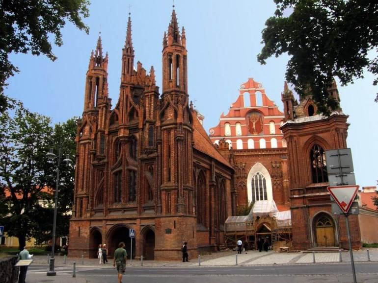 St Anne and Bernadine Ensemble Vilnius