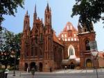 St Anne and Bernadine Ensemble Vilnius Lithuania