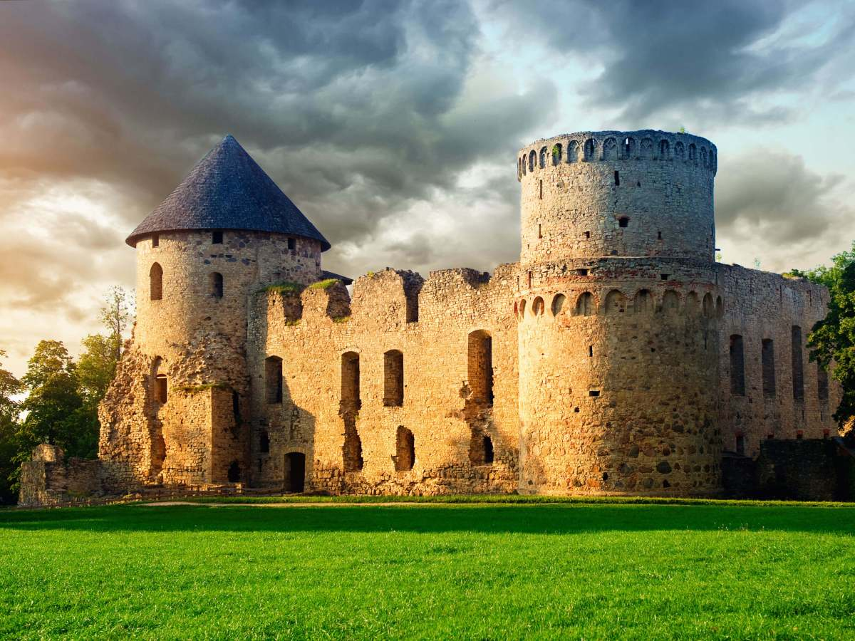 Cesis The Castle Town Latvia